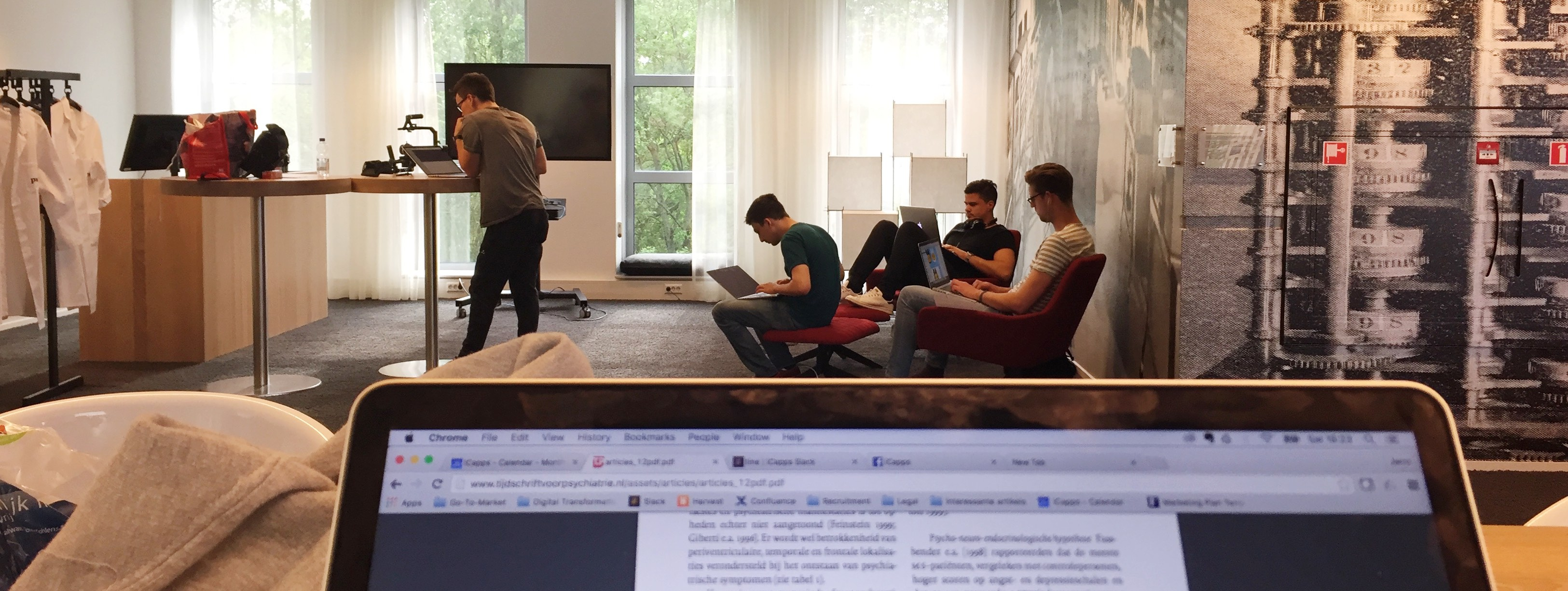 Battling MS with a Hackathon to create an innovative digital product