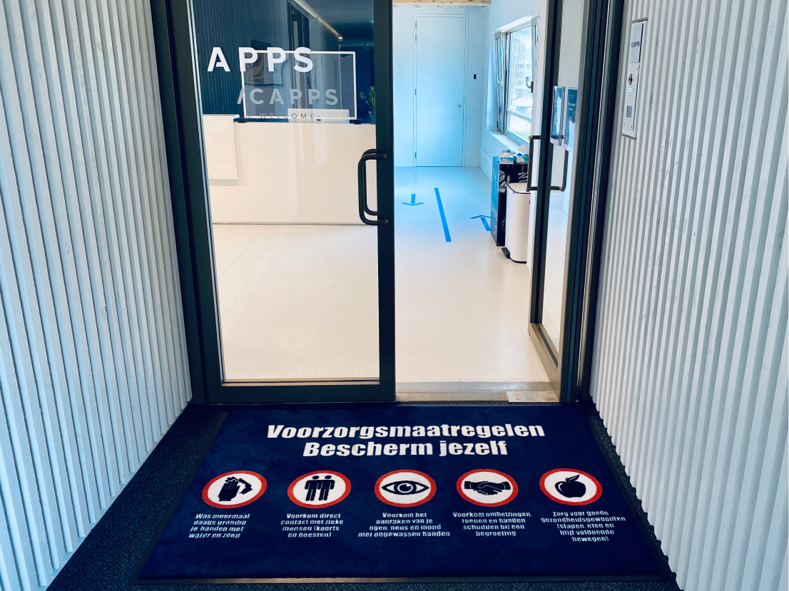 Reopening our icapps workplace