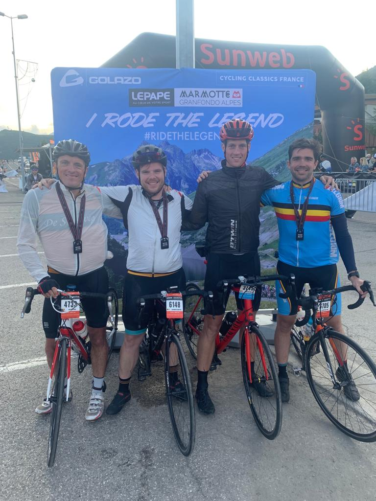 Marmotte icapps cycling team