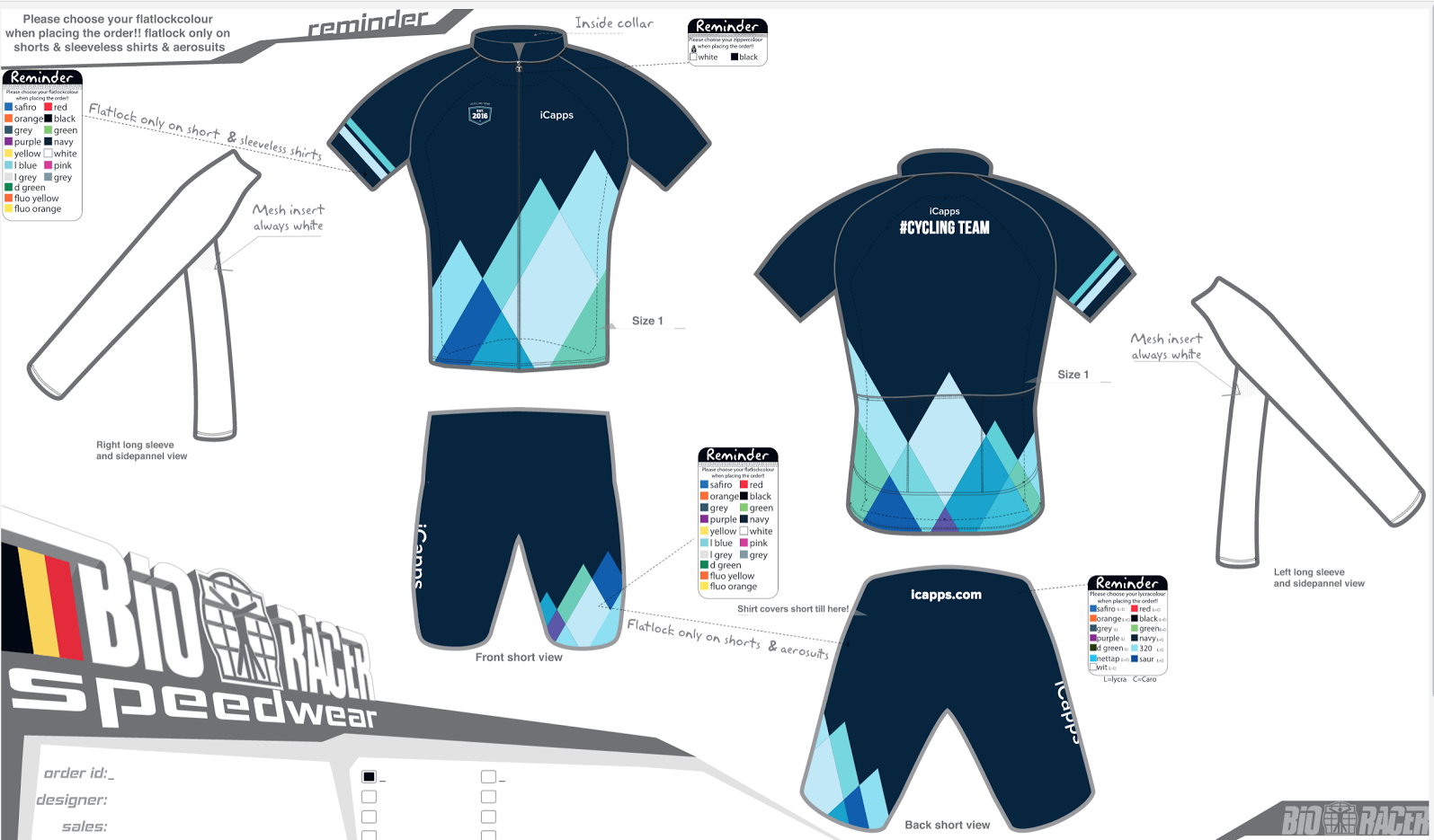 bioracer icapps outfit
