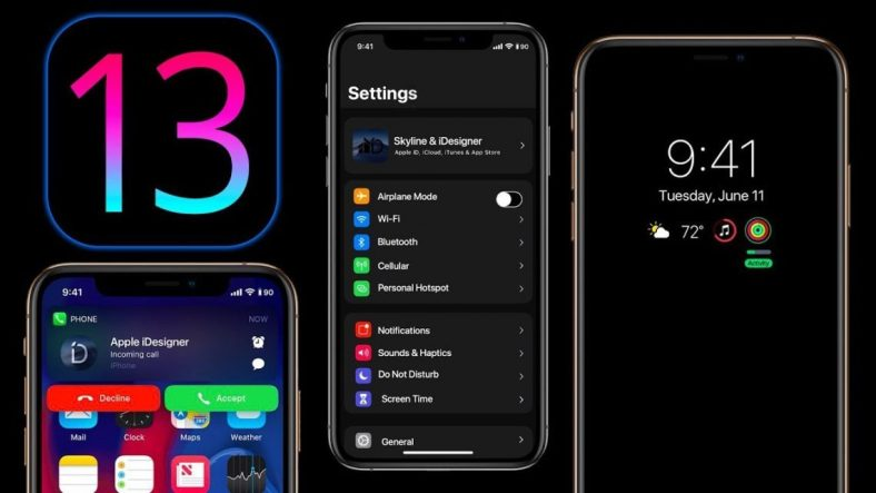 iOS 13 WWDC icapps