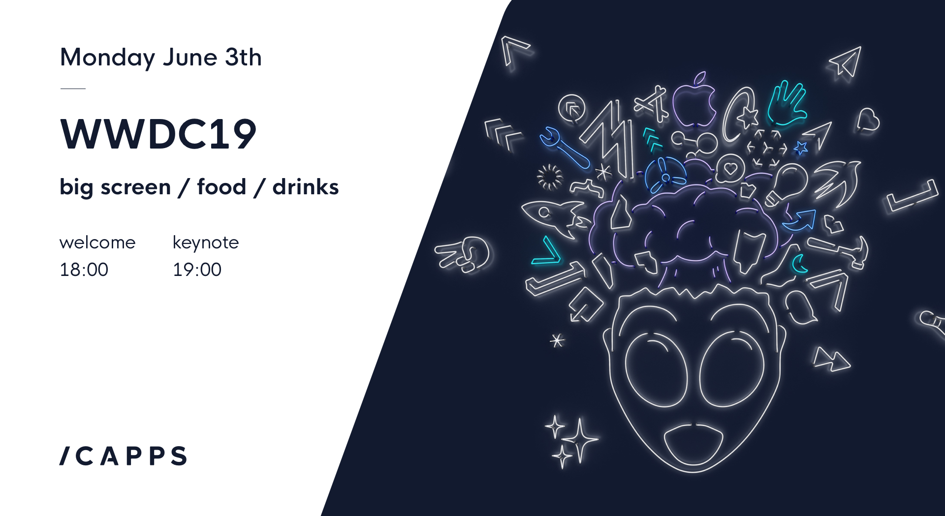 icapps tech drinks WWDC 2019