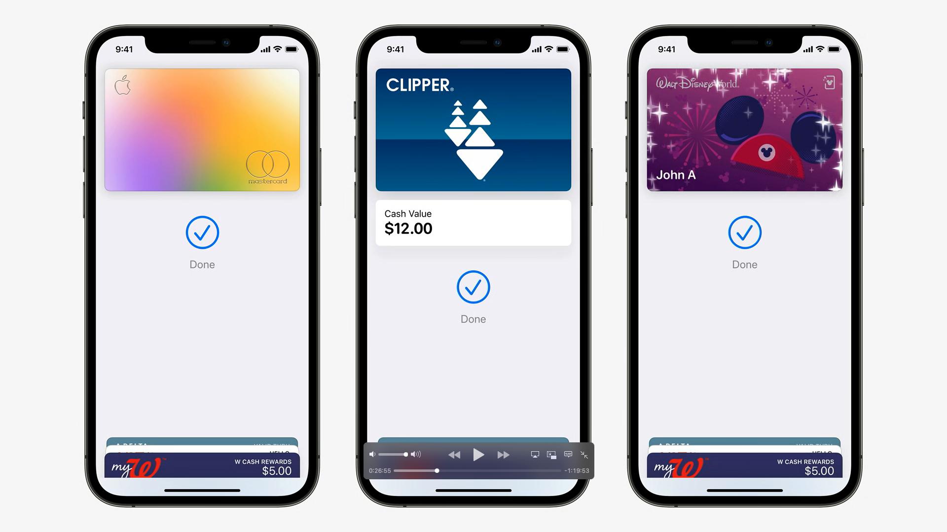 New wallet WWDC Apple