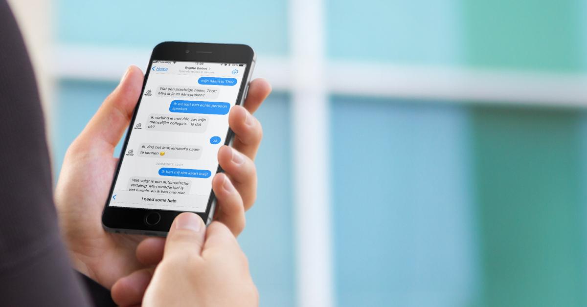 Mobile Vikings Chatbot
