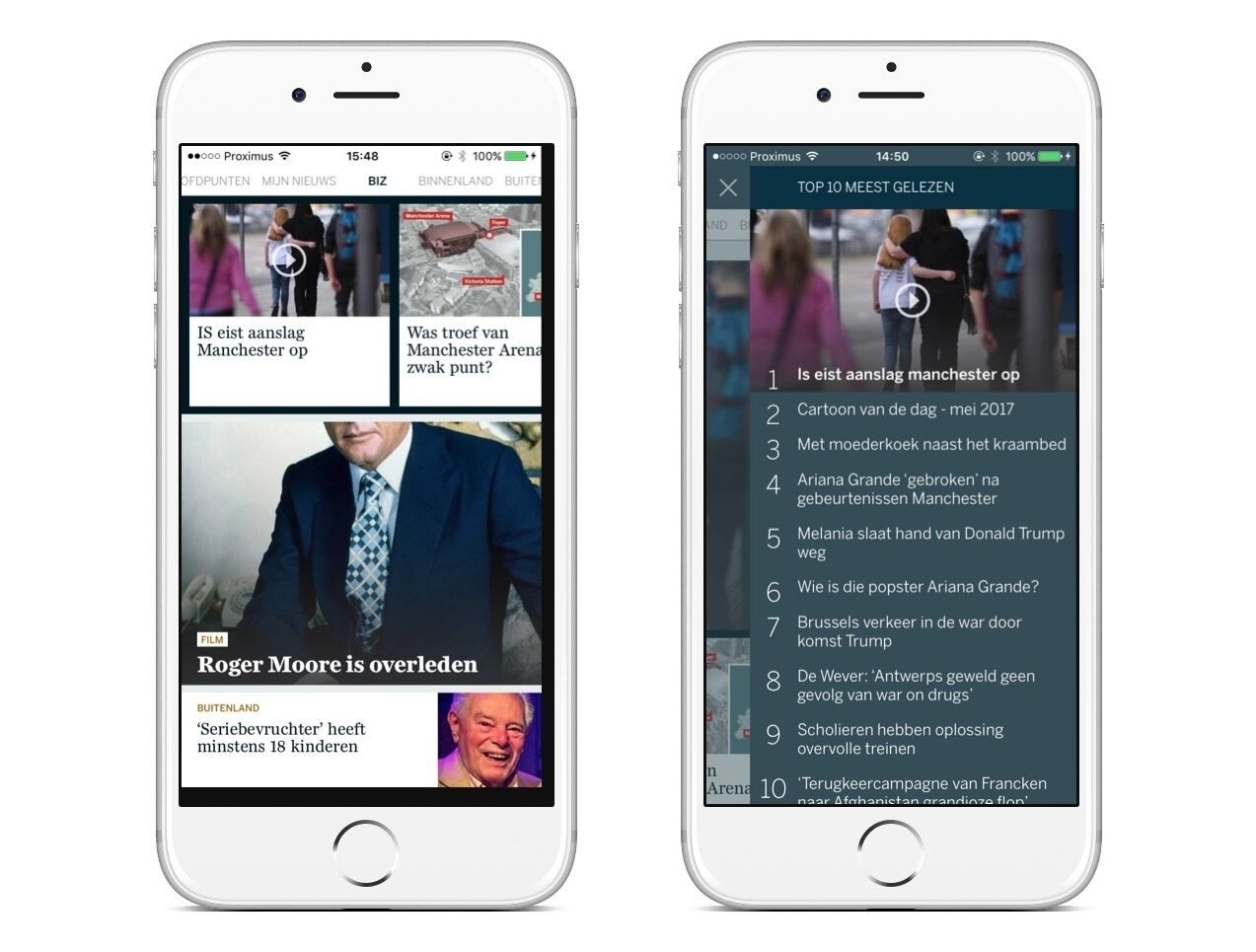 Standaard mobile application