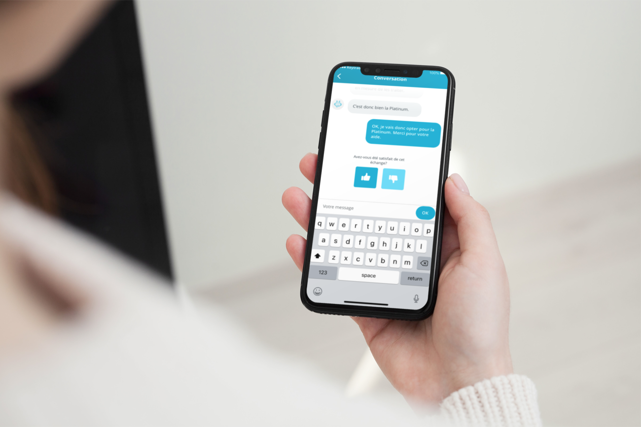 Keytrade Cards Chatbot