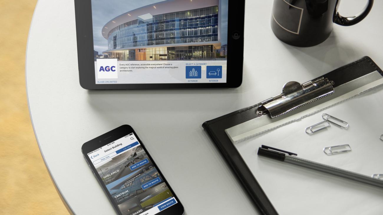 Agc mobile app solution