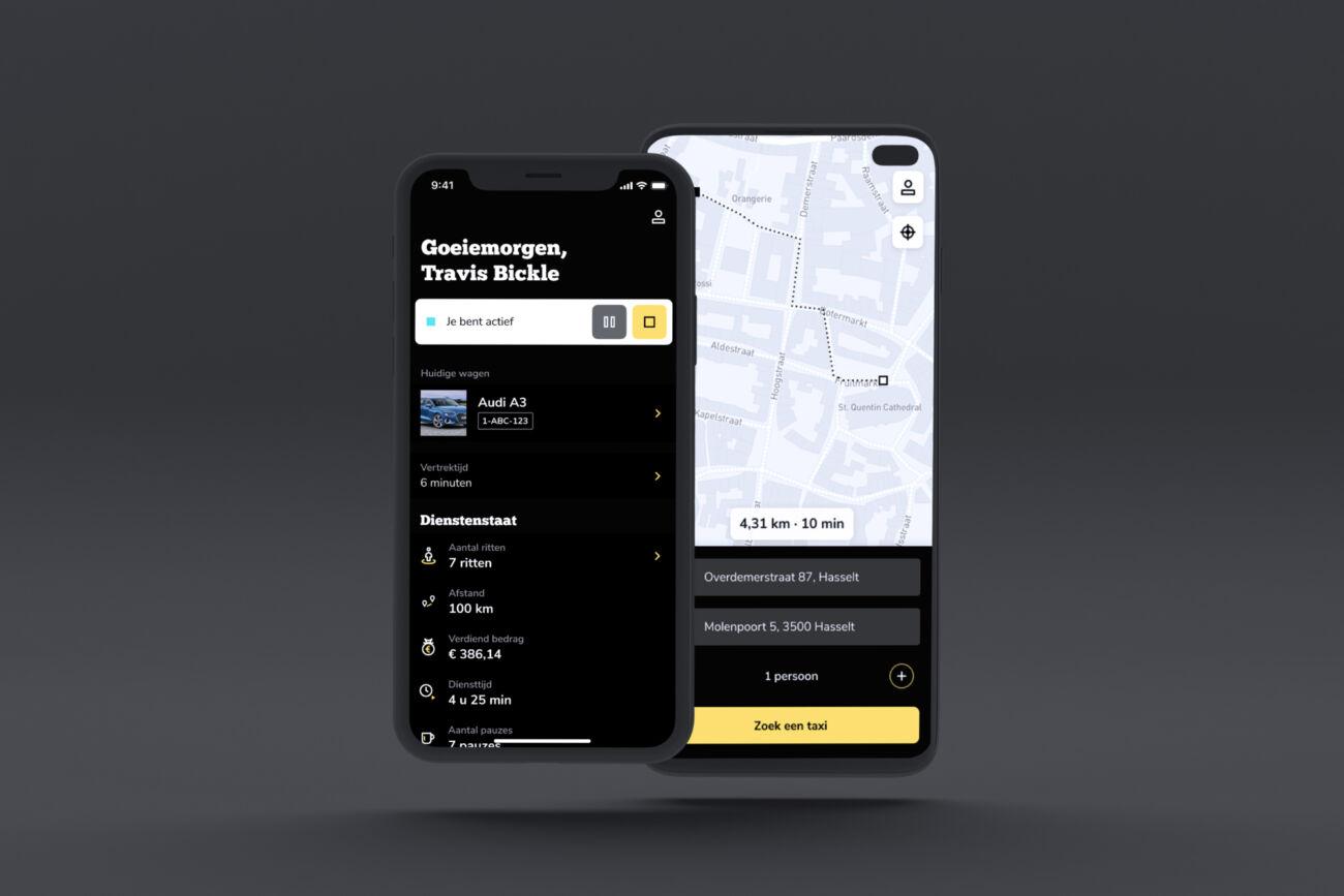 Custom Taxi app Wave a cab