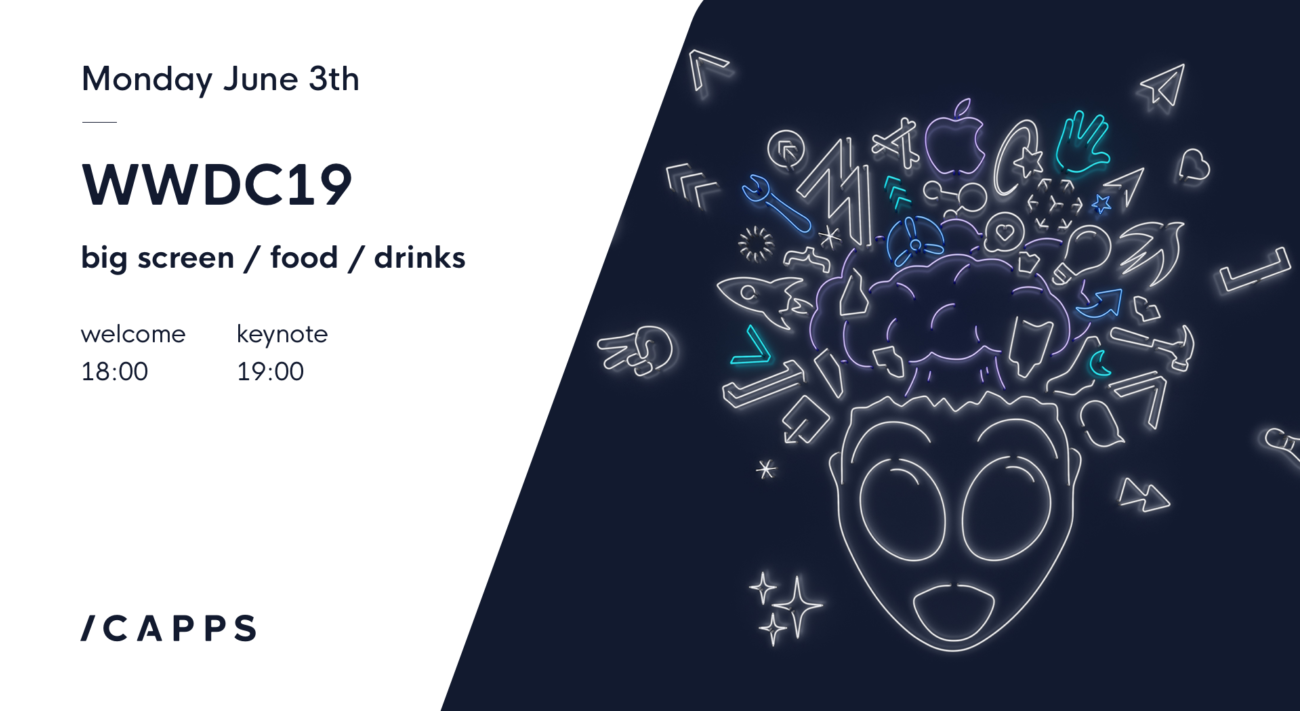 Klein i Capps Event WWDC 19